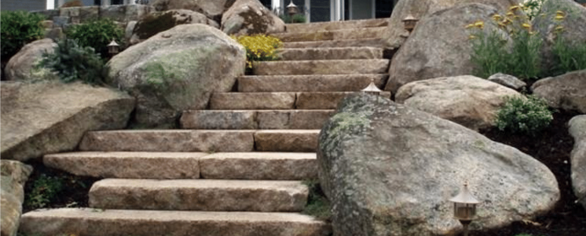 all about boulder stones the different ways to use boulders as landscape d u00e9cor