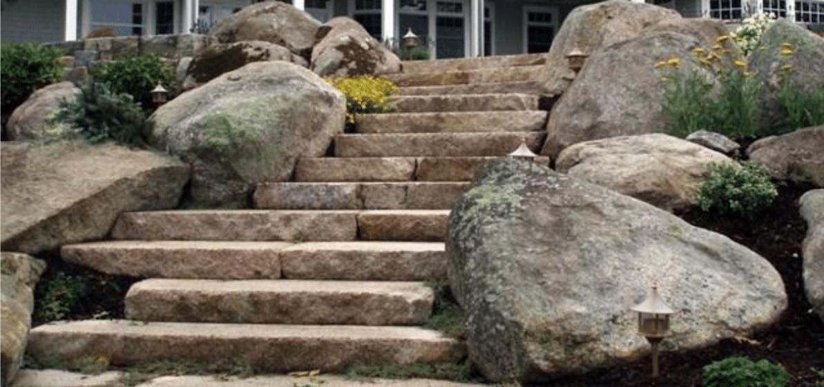 All About Boulder Stones The Different Ways To Use Boulders As Landscape Decor Paradise Landscape Centers Inc